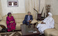 Special Representative of the Secretary-General and Head of MINUSMA Meets President of Niger